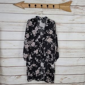 Spiritual Gangster | Maya Floral Print Kimono